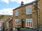 YORK HOUSE, character cottage by the sea, open fire, sea views in Staithes Ref 22255