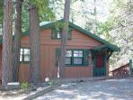 NEW LISTING!  Charming 2 BR / 2 BA Cabin; close to town w/Lake; sleeps 7-9.