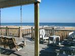 APRIL/MAY DEALS:OceanFront 3BR House,Big Deck,WiFi