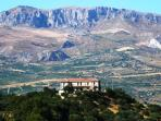 Apartment Tramontana in a beautiful hilltop villa