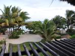 View of the Caribbean Sea from the balcony