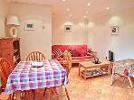 Cosy living and dining area