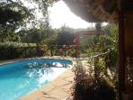 Comfortable bungalow, private pool, chef, close to the beach,situated in a lush tropical garden,Eco-friendly environment,
