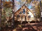 Hawks Nest - Hot Tub, 2 Queen Beds, 2 bathrooms lovely private and peaceful setting cabin