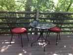 More outdoor dining