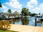 Blue Parrot: 2BR/2BA Canal-Front Home with Dock