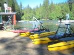Twain Harte Lake - Paddle Boat Rental