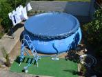 4 bed renovated house, inflatable pool, beach 7 Km