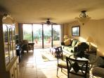 Bright, updated condo, just steps to the beach.