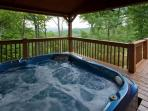 Astonishing views from the Hot Tub