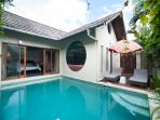 Comfortable One Bedroom Villa with Private Pool
