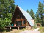 Peaceful & Quiet Aframe in Ponderosa Forest