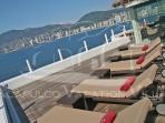ACA - CTV04  -  Ocean Front penthouse with private sundeck and lounging area