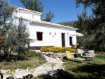 Casa Girasol in olive grove with plunge pool