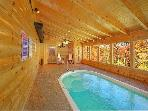 Pigeon Forge Cabin Swimming Pool Cabin GONE SWIMMIN' 260