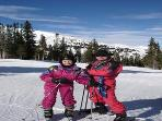 Your hosts at the top of Breck