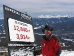 Almost 13,000 Feet, Highest Point in North America for Sking