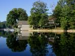 Toxaway Shores boathouse and swimming area, Christi Fuller Photography, Copy 2013