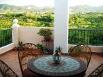 Spacious and bright apartment in spanish villa with panoramic views