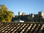 Apartment house with  views of the Alhambra.  'B'