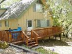 One Bedroom; 2 Bath with Sleeping  Loft - Sleeps 6 - Private, seclulded, WiFI