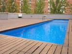 Nice apartment with pool close to the beach and the park!