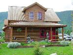 Magnificent, Restored Log Home - On the Quiet End of Main Street (1397)