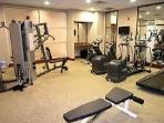 Gym in the building. Fully accessible to guests!
