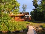 #115 Birchknoll ~ Sunsets from you deck or private dock!