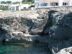 Holiday villa in Menorca on the sea for up  to 8 people in an exclusive location - ES-1078802-Binibequer-Menorca
