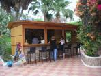 Friendly bar by the main pool entrance