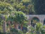 View of Oasis aqueduct