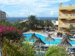 El Marques Palace heated pool with sea views
