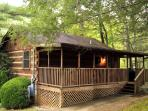 Bluff Haven -2 Bedroom  Log Cabin In Wears Valley