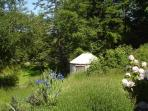 Yurt on Orcas Island Horse Farm