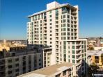 Modern upscale Little Italy condo- views+ location
