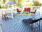 2/2 FURNISHED HOUSE, DECKS,VIEWS, WALK TO VENTURA!