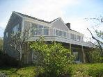 Gorgeous Views of Cape Cod Bay 5 bedroom, 2 bath Brewster home!