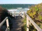 Just 300' feet to Winslow Landing Beach on Gorgeous Cape Cod Bay in Brewster!