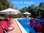 VILLA at CALA JONDAL (El Algahr) + POOL