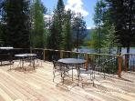 Hereford Lake House - 4 Bedroom, 2 Bath Sleeps 10. On Lake Cascade with boat dock, beach and Satellite TV. Pet Friendly.