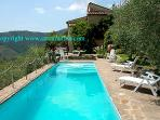 Detached house with private pool near Pisa-Lucca