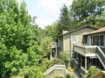 Village Green D4 is a light & spacious condo on Main Street, Blowing Rock