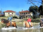 Horse riding holidays   villa rental   (Sleeps 18)