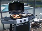 Gas grill included