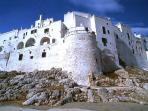 The Outer Walls Of Ostuni Town