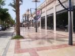 shopping in Los cristianos 5 mins from apartment