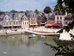 Auray old town is also only 40 minutes away