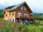 Custom Built Alaskan Log Home
