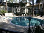 3 bedroom, 2 bath Seascape Villa 3088 - courtyard view, nicely decorated